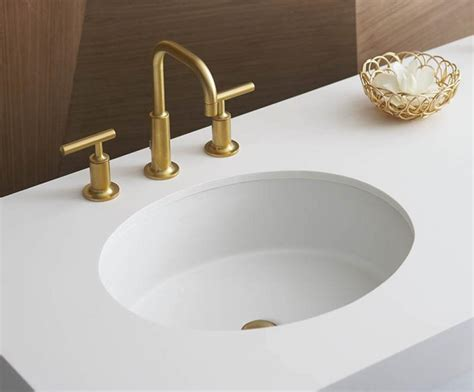 gold bathroom sink how to instal an undermount bathroom sinks 12987