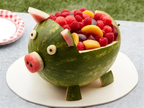 watermelon pig recipe food network kitchen food network