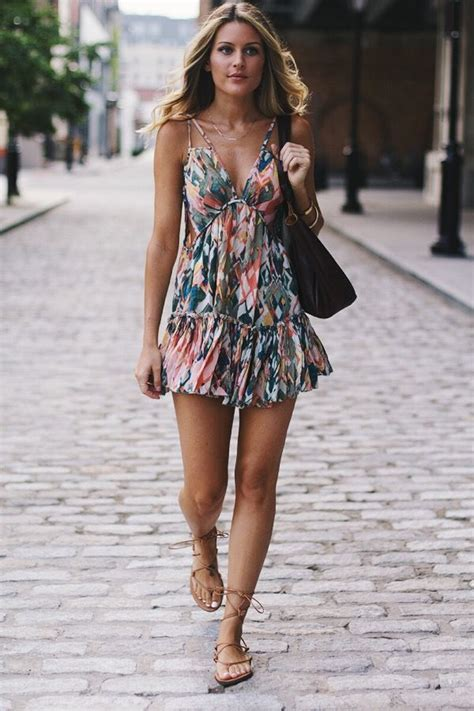 Flowy Floral Short Summer Dresses to Feel Amazing u2013 Designers Outfits Collection