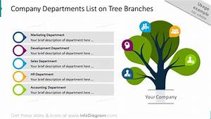 Modern Tree Diagram Powerpoint Template For Branch Infographics And Root Cause Presentation