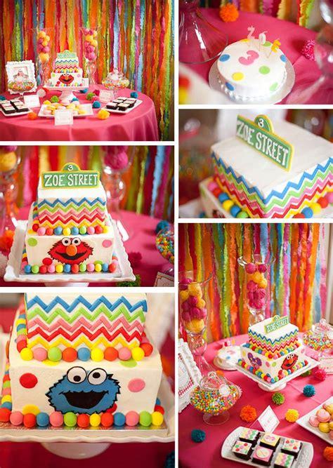 sesame street birthday party ideas  childrens parties