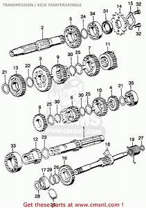 Honda Cg 125 Engine Diagram