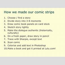 How To Make A Comic Book About Your Family Stories