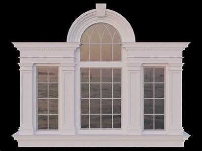Window Palladian Venetian Low Poly Architectural Models