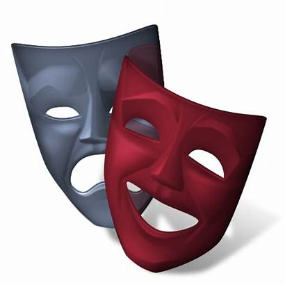 Theatre Icon Theater Theatrical Mask Transparent Icone