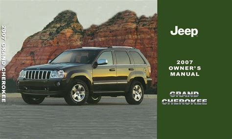free service manuals online 2007 jeep grand cherokee free book repair manuals 2007 jeep grand cherokee owners manual user guide reference operator book oem ebay