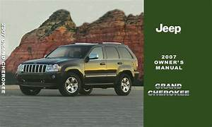 2007 Jeep Grand Cherokee Owners Manual User Guide