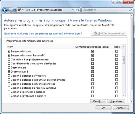 activer bureau a distance windows 7 quelques liens utiles