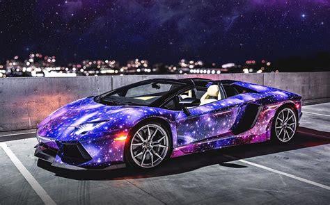galaxy lamborghini aventador roadster billionaires