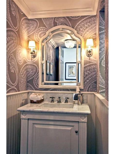 small powder room wallpaper wallpapersafari