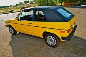 Purchase Used 1982 Volkswagen Rabbit Convertible