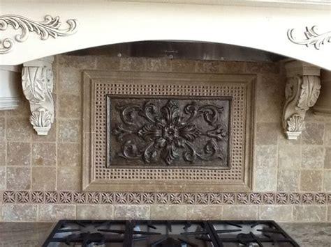 kitchen backsplash metal medallions antique bronze medallion crushed glass decoratives 5048