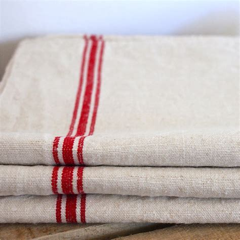 french linen tea towel sold   french finds