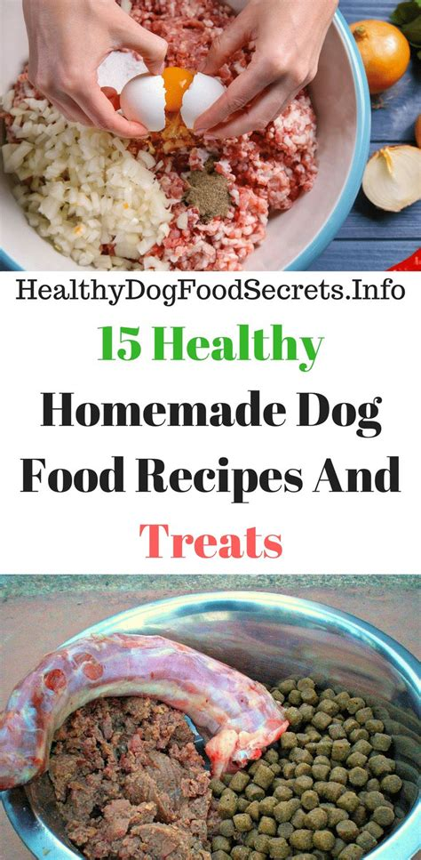 dog food recipes ideas  pinterest healthy