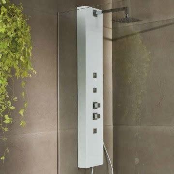 banos colonna doccia liscio naturale effetto pietra