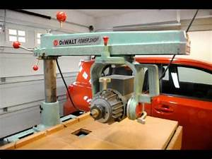 Dewalt Radial Arm Saw 925  Frame 236 Combo Avi