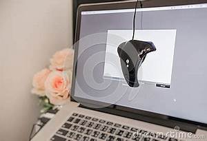 And Customizable Color Monitor. Stock Photo - Image: 61251880