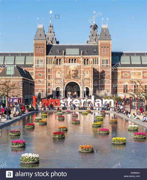 Amsterdam Museum National by Rijksmuseum Amsterdam Rijksmuseum National Museum With I