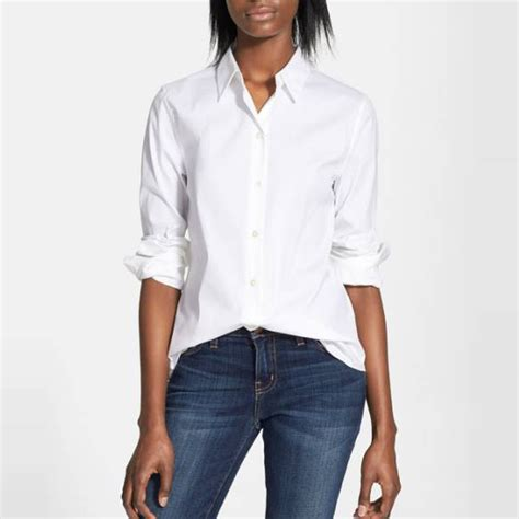 white button up blouse 10 best white button shirts 2017 rank style