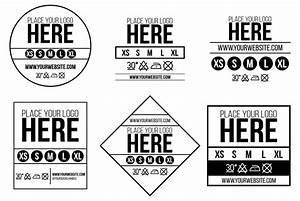 How to use our free neck label template 3rd rail clothing for Clothing label design templates