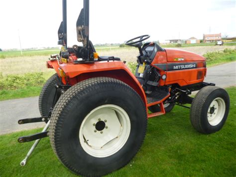 Mitsubishi Compact Tractor by Sold Mitsubishi Mt301hd Compact Tractor For Sale Fnr