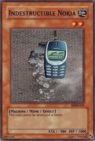 indestructible noki monstercard funny yugioh cards