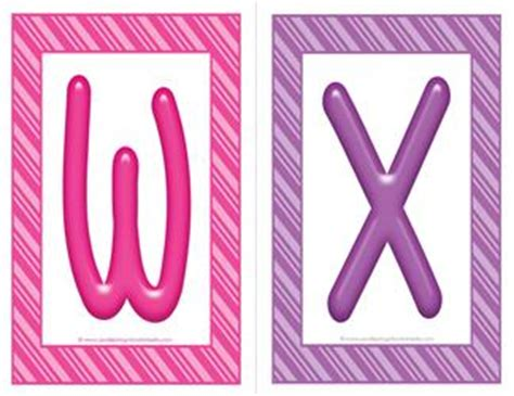 stripes  candy colorful alphabet letters uppercase