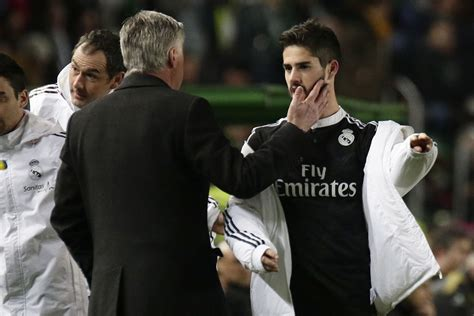 Carlo Ancelotti Talks About Isco and James Rodriguez ...