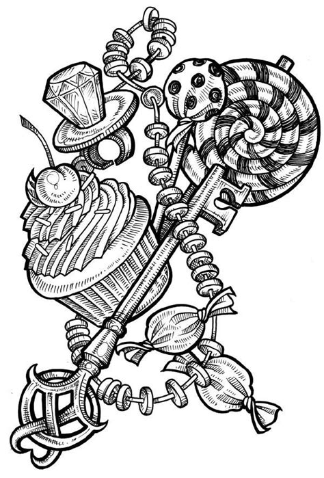 key number 6 by Phedre1985 on deviantART | Tattoo posters, Candy tattoo, Cupcake tattoos