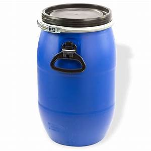 60 Liter Fass : maischefass 60 liter blau mit deckel griffen spannring fass weithalsfass tonne l ebay ~ Frokenaadalensverden.com Haus und Dekorationen