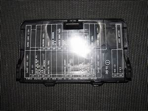 Honda Fuse Box Cover