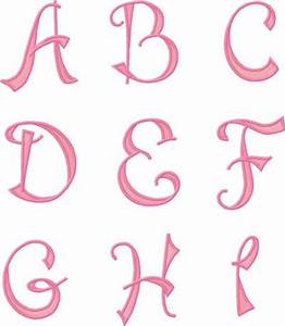 Image Gallery pretty letters