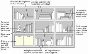 Arranging bookshelves with style for Interior design bookshelf arrangement