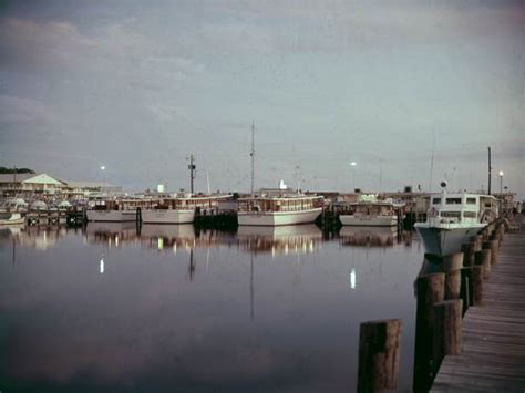 Party Boat Fishing Queens by Florida Memory Davis Party Fishing Boats At The St