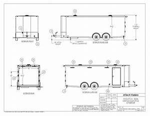 Custom Enclosed Car Trailers For Race Cars