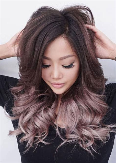 Black And Brown Hair Color Ideas by Best Ombre Hairstyles Black And Brown Hair