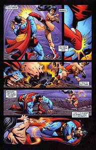 Superman vs WonderWoman - Battles - Comic Vine