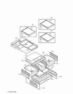 Lg Refrigerator Ice  U0026 Maker Parts