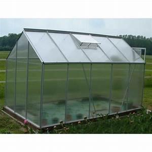 Serre De Jardin Polycarbonate : serre de jardin aluminium polycarbonate 311x190x195cm ~ Dailycaller-alerts.com Idées de Décoration