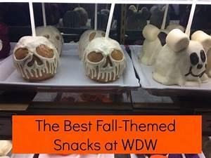 The Best Fall-Themed Snacks at Walt Disney World