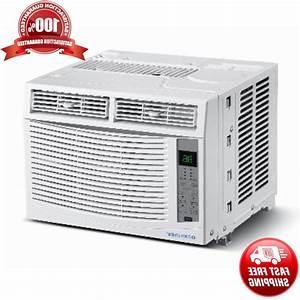 6000 Btu Compact Window Air Conditioner 350 Sq