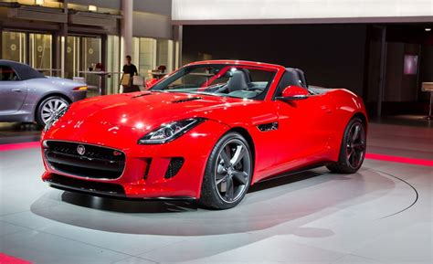 2014 Jaguar F-type Roadster Photos And Info