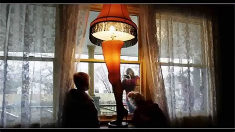 A Christmas Story Full Size 45 Leg Lamp Controlled By One 3-way Switch
