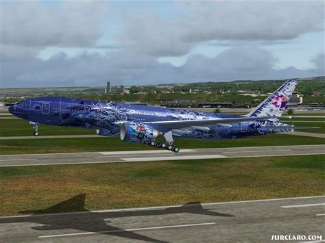 FS2004 | Meljet 777-200lr Hawaiian Airlines (14865 ...