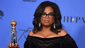 'Their time is up': Oprah's stirring Globes speech | Stuff ...