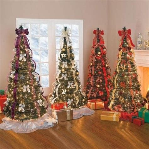 pre decorated christmas trees  sale christmas trees