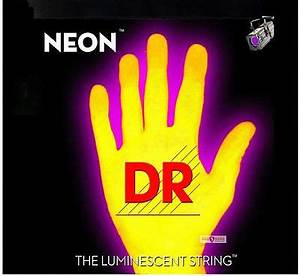 DR NEON NYB 45 Neon Yellow Luminescent Fluorescent Bass