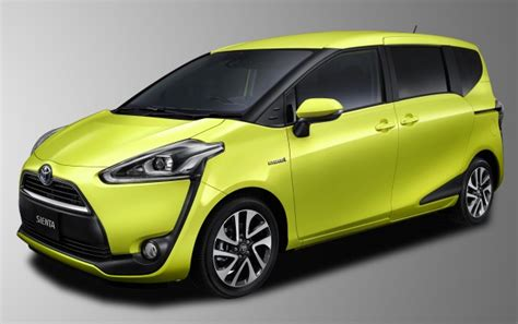 Gambar Mobil Gambar Mobiltoyota Chr Hybrid by 2016 Toyota Sienta Mpv Specs Leaked