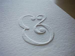 ampersand embossed hand lettering by seanwes With embossing hand lettering