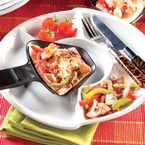 cuisine raclette recette originale pizza raclette recettes cuisine et nutrition pratico